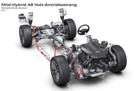 Noul Audi A8 va fi echipat cu un sistem micro-hibrid, motorul va fi oprit complet la viteza de croaziera