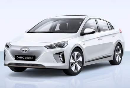 Hyundai mareste productia la modelul electric Ioniq