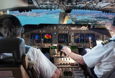 Sky is the limit in domeniul aviatiei: cat castiga cel mai bine platit pilot din Romania