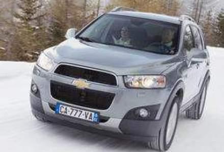 Chevrolet Aveo sedan si Captiva au primit 5 stele la EuroNCAP