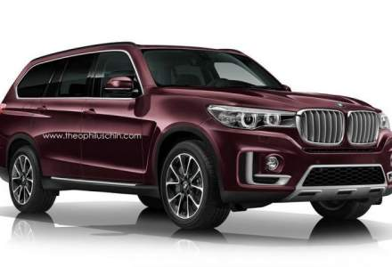 BMW X7 Concept pregatit de lansare: cel mai mare si cel mai scump SUV din portofoliu