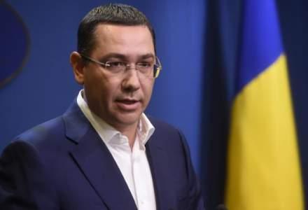 Victor Ponta: Ii recomand Gabrielei Firea sa ia o pauza din propaganda politica si sa-si faca datoria conform fisei postului