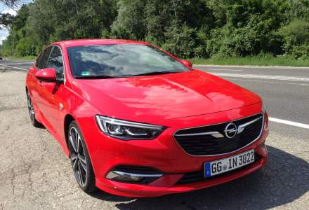Test cu noul Opel Insignia: design de coupe, tinuta sportiva si tehnologii noi