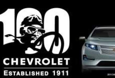 Chevrolet lanseaza Volt in Europa si sarbatoreste 100 de ani