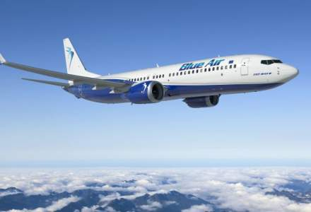Blue Air a facut o comanda pentru sase avioane Boeing 737 MAX si va inchiria alte 12 avioane