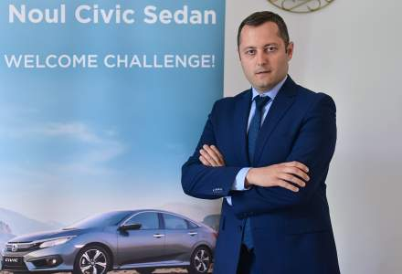 Ionut Lupu, brand manager Honda Trading: Vanzarile s-au dublat in ultimii doi ani. In prezent avem o crestere de 30% si ne dorim sa livram peste 1.000 de masini anul acesta