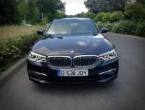 Test cu noul BMW Seria 5...