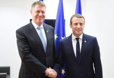 Emmanuel Macron vine in Romania, la invitatia lui Klaus Iohannis