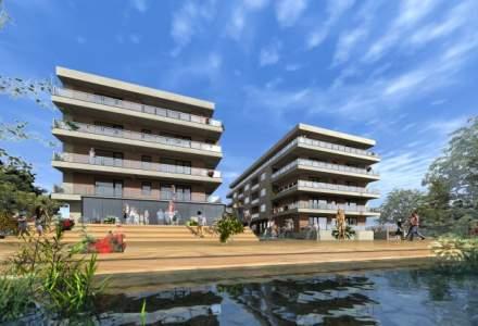 Alin Burcea pariaza pe imobiliare si finalizeaza un complex de apartamente de vacanta pe malul lacului Snagov