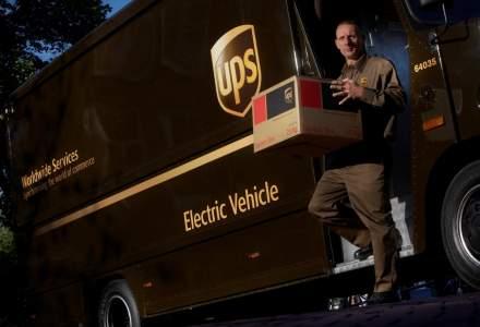 UPS vrea in flota mai multe vehicule care folosesc combustibil alternativ