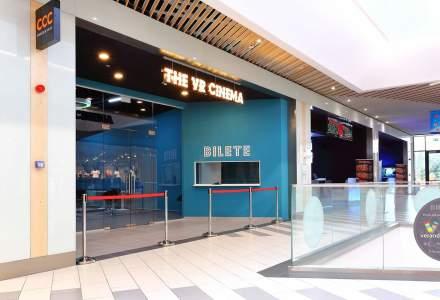 Veranda Mall a inaugurat primul VR Cinema din Romania: cel mai nou spatiu de entertainment al viitorului si primul de profil din tara noastra a necesitat investitii de 200.000 de euro