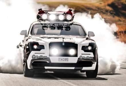 Schiorul profesionist Jon Olsson a pus 810 cai putere pe un Rolls-Royce Wraith