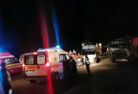 Tragedie in Arges: Trei militari au murit dupa ce un camion s-a rasturnat