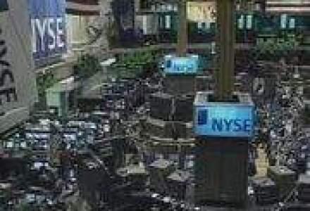 Reuters: Bursa de la New York incepe o saptamana grea