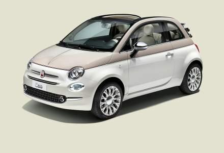 Fiat anunta doua editii speciale Fiat 500 60th Edition si Fiat 500 Anniversario