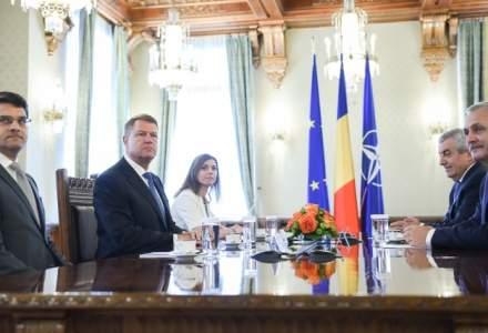Klaus Iohannis, despre programul de guvernare: Schimbarile nu se decid in centrala de partid