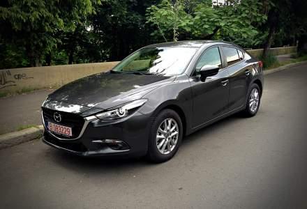 Test drive cu Mazda3 sedan facelift si motorul diesel de 1,5 litri 105 CP