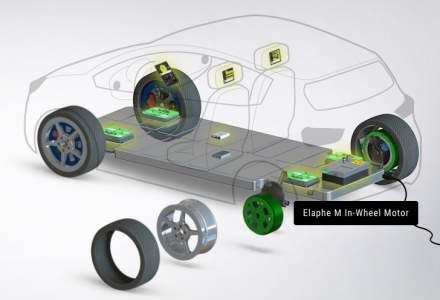 O firma din Slovenia testeaza motoare electrice pentru masini amplasate in roti