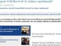 Miscarea Ocupati Wall Street...