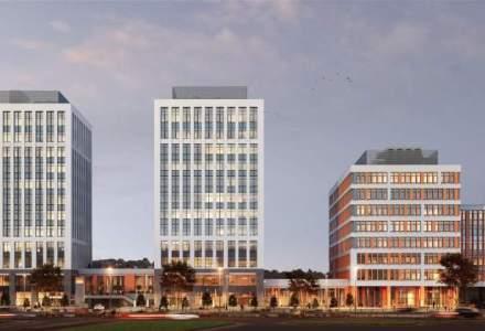 Vastint a inceput constructia celei de-a treia cladiri de birouri in cadrul proiectului Timpuri Noi Square