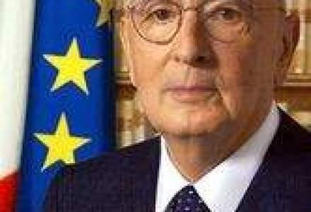Presedintele Italiei demareaza consultarile cu partidele politice