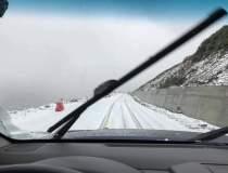 A nins pe Transalpina in zona...