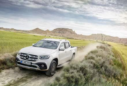 Mercedes-Benz lanseaza pickup-ul premium Clasa X