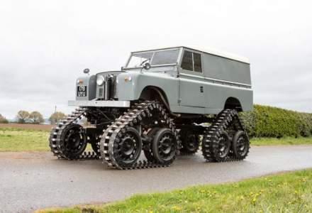 Cum arata modelul Land Rover care poate ajunge aproape oriunde