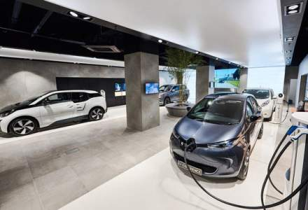 Inovatie in Londra: showroom multi-marca dedicat exclusiv masinilor electrice