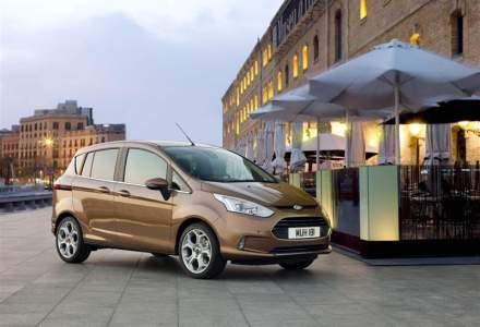 Ford renunta la modelul B-MAX fabricat exclusiv la Craiova si anunta angajari noi pentru demararea proiectului EcoSport