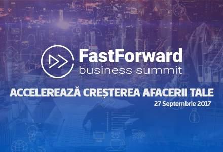 Fast Forward Business Summit, inspiratie si lectii de business: cum sa accelerezi cresterea afacerii tale