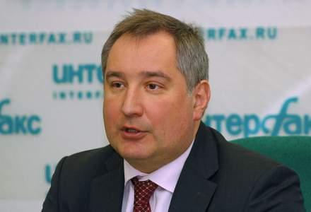 """Dmitri Rogozin cere """"contramasuri usturatoare"""", dupa ce autoritatile romane nu au permis cursei sale sa ajunga la Chisinau"""