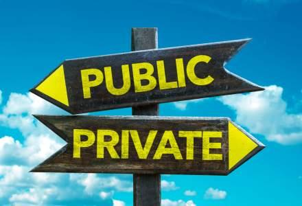 Care este numarul unitatilor sanitare publice versus private din Romania