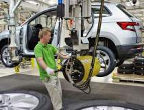 Skoda Karoq intra in productie