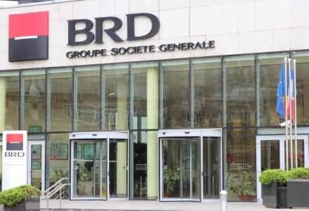 BRD, rezultate financiare semestriale: banca isi dubleaza profitul pe fondul revenirii creditarii