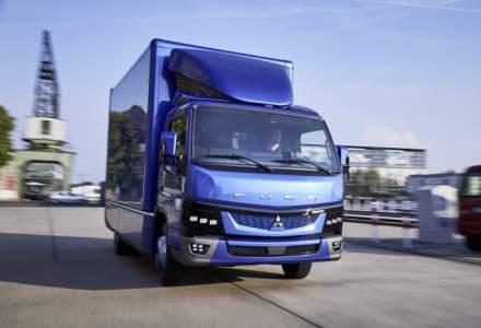 Daimler demareaza productia primului camion usor electric din lume, Fuso eCanter