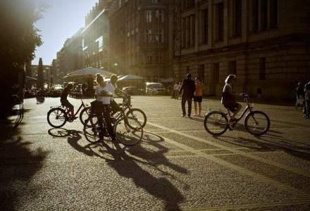 Primaria Capitalei vrea sa faca, cu bani eropeni, 60 de km de piste pentru biciclisti