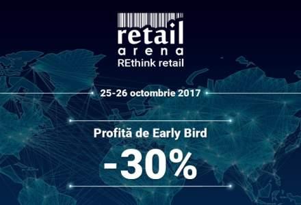 RetailArena 2017 - REthink Retail: Cei mai mari jucatori din piata, intr-un singur eveniment