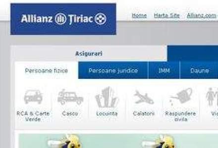 Scad afacerile Allianz-Tiriac. Vezi bilantul la noua luni