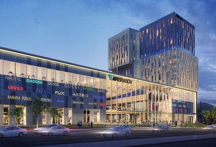 AFI Europe a inceput constructia Brasov Mall si a proiectului de birouri integrat: 80% din spatii, deja inchiriate, iar investitiile depasesc 120 mil. euro
