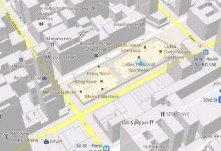 Google a cartat mall-uri si aeroporturi intr-o noua versiune a Google Maps