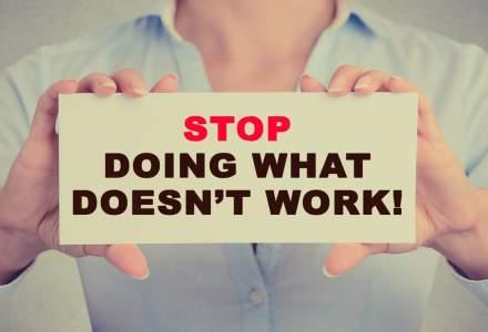 Cinci lucruri la care trebuie sa renunti acum daca vrei sa ai mai mult succes in viata