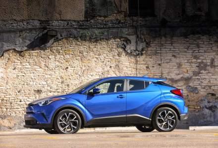 Cel mai nou model Toyota, SUV-ul Toyota C-HR, a urcat in top 3 vanzari in segmentul sau