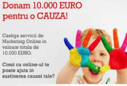 O agentie de marketing online ofera 10.000 euro in servicii unui ONG - vezi conditiile