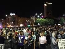 Protest in Piata Victoriei...