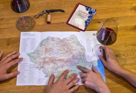 A fost lansata prima harta viticola a Romaniei: ce crame si podgorii poti sa vizitezi in tara