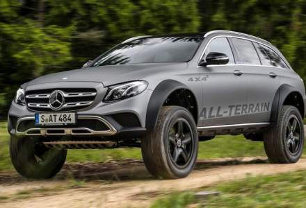 Mercedes-Benz E-Class All-Terrain 4x4 exista si este cu adevarat spectaculos