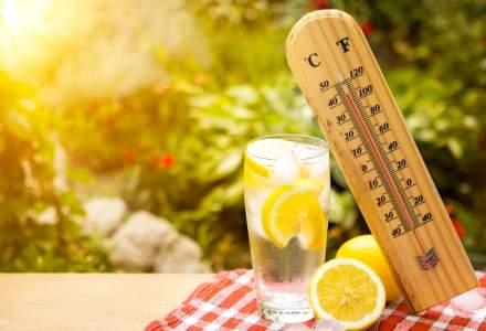 Vreme calduroasa in weekend, cu temperaturi de pana la 36 de grade Celsius