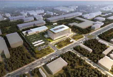 Globalworth a demarat lucrarile viitorului complex de birouri al Renault din Vestul Capitalei: cum va arata Renault Bucharest Connected, proiect estimat la 50 mil. euro