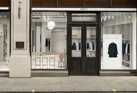 Grupul H&M a deschis primul magazin al brandului de lux Arket, in Londra